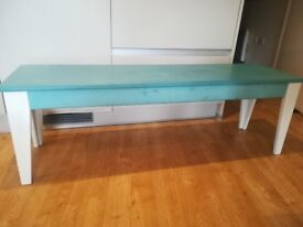 Three seater BENCH upgraded with Annie Sloan chalk paint