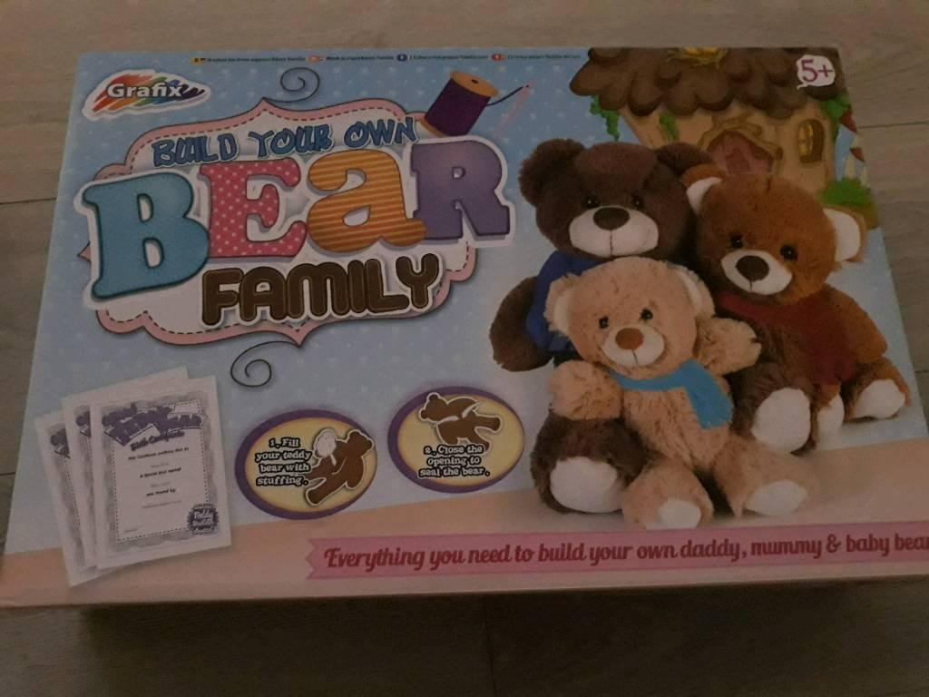Build a bear family