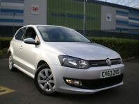 2014 Volkswagen Polo 1.2 TDI BlueMotion 5dr Hatchback * FULL SERVICE HISTORY ...