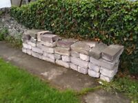 Load of used solid breez blocks FREE!!!