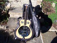 Top quality Square neck resonator guitar. Handmade.