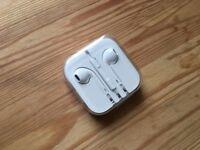 EarPods with 3.5 mm Headphone jack - iPhone headphones Original Never Used Never opened