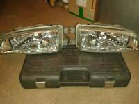 Scooby classic crystal clear headlights and clear side lights
