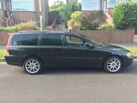 Volvo V70 D5 manual 7 seater estate one years MOT