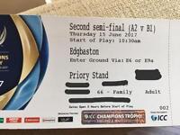 ICC Champions Trophy 2nd Semi @ Edgbaston