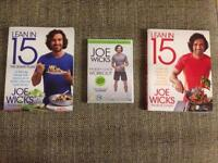 2 lean in 15 books and brand new DVD still in packaging g