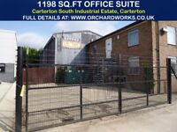 Self-Contained Office Suite with own Entrance, Gated Courtyard, Kitchen & W.C. 1200SQ FT, Carterton