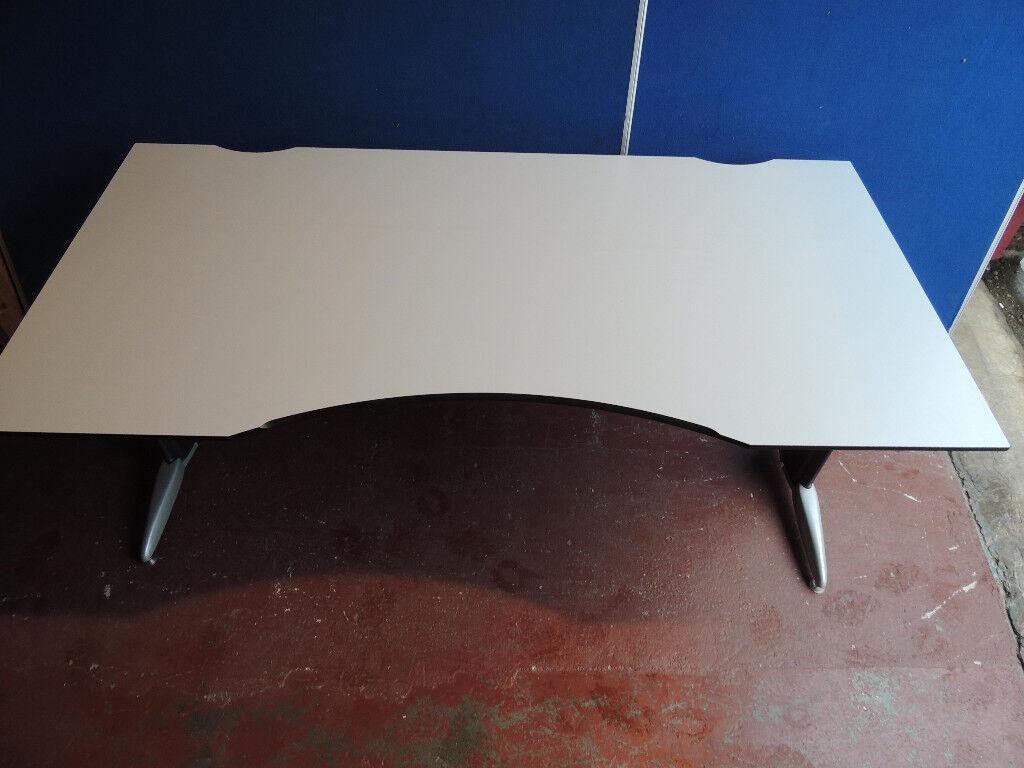 Delta quality Grey Unique desks x 10 left (Delivery)