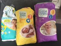 Mix of nappies free