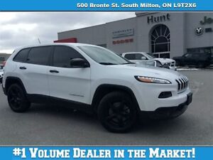 2014 Jeep Cherokee SPORT BLACKOUT, BLUETOOTH & MORE!!!