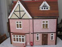 Large double sided doll's house