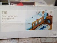 Mothercare Fixed Wooden Bed Guard