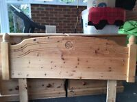 Beautiful Solid Pine Headboard