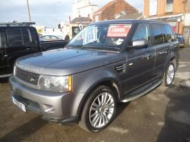 RANGE ROVER SPORT SE TD V6,stunning looking 4x4,FSH,1 owner,2 keys,full cream leather interior
