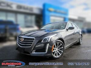 2016 Cadillac CTS Sedan AWD 3.6L Luxury  - Certified - $273.56 B