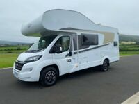 2019 HYMER CARADO A361 6 BERTH MOTORHOME WITH REAR BUNKS AND ONLY 2K MILES ANDERSON MOTORHOME SALES
