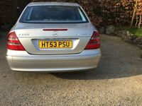Mercedes E200K Avantgarde Silver. Petrol / Automatic. Excellent Condition. Full Service History