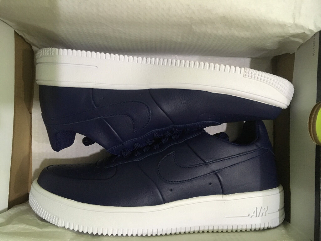 buy popular 71575 1ec83 ... sweden nike air force 1 ultraforce leather binary blue white binary  blue size 949d0 f8dd4