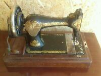 Vintage manual Singer sewing machine