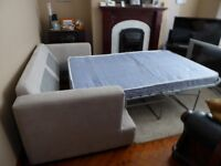 Beautiful Belgian Manufactured Sofa-Bed In Very Well Kept Condition