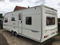 5 berth Bailey Senator 2005 caravan. Double axis ,shower toilet sink. cooker microwave fridge.£6000