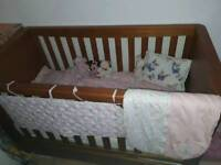 Luxury Cot bed Harrogate mothercare with draw