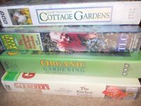 Geoff Hamilton & Joe Maiden Gardening VHS videos x 4
