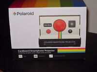 POLAROID SMARTPHONE PROJECTOR Portable Home Cinema 8x Zoom CARDBOARD
