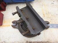 Lathe mill related engineers swivel plate