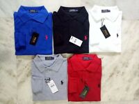 Ralph Lauren Full sleeves Polos Tshirts For Men Wholesale & Retail Singles : £24/per piece.