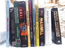 F1 Books x 11