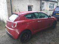 Alfa mito 1.4 TB 155 swap,px,not civic,corsa,astra