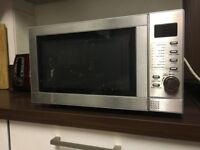 Microwave Grill combo (Tesco MG208, Silver), excellent condition, LCD Screen