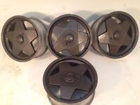 """BORBET A 17"""" 4x100 7.5J deep dish alloy wheels, original, not azev, speedline, aez, tm"""