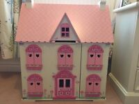ELC Rosebud Country Doll's House - like new