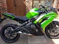 2013 Kawasaki ER6-F 649cc Motorcycle. £3499. 8876 Miles. 12 months Mot. Professionally maintained