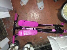 Flicker a3 air pink