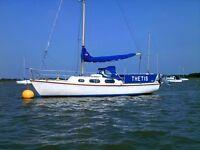 Achilles 24 sailing yacht