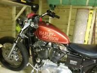 Harley davidson sporster 883- 1200