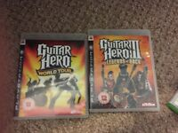 Guitar hero for the ps3