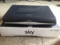 Sky HD + Box with remote
