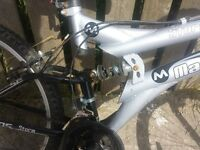 maxima storm mountain bike very good only £45