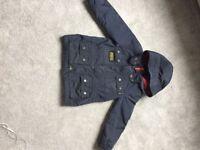 Barbour boys jacket