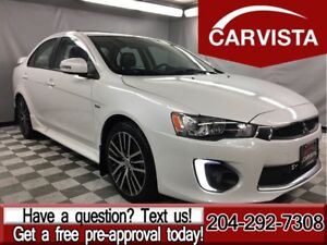 2016 Mitsubishi Lancer GTS -SUNROOF/LEATHER/PROTECTION PACK-