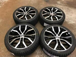 "18"" VOLKSWAGEN Wheels 5x112 and Winter Tire Package 225/40R18 (Volkswagen Golf, Jetta) Calgary Alberta Preview"