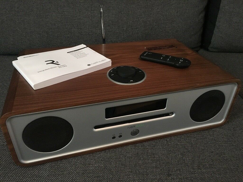 ruark audio r4 mk3 in gosport hampshire gumtree. Black Bedroom Furniture Sets. Home Design Ideas