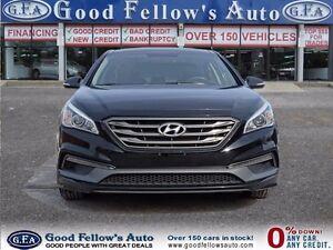 2015 Hyundai Sonata SPORT, PANROOF, LEATHER & CLOTH, CAM, 4CYL,