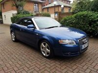 Audi A4 convertible 2.0 tdi 140 bhp service history 2008 climate control