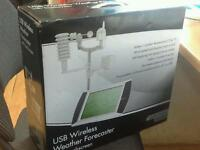 USB wireless weather frodcaster