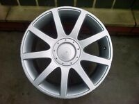 AUDI RS4 STYLE 18 inch alloy wheel VW Golf mk4 fitment.......
